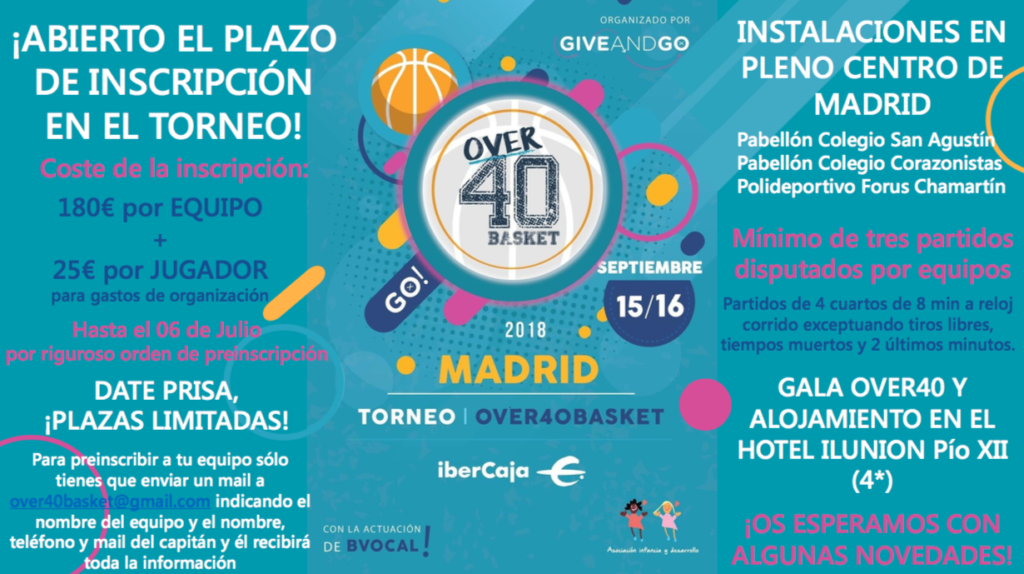 CartelOver40Madrid